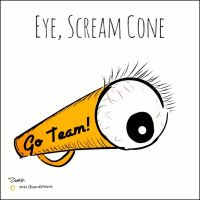 Eye, Scream Cone